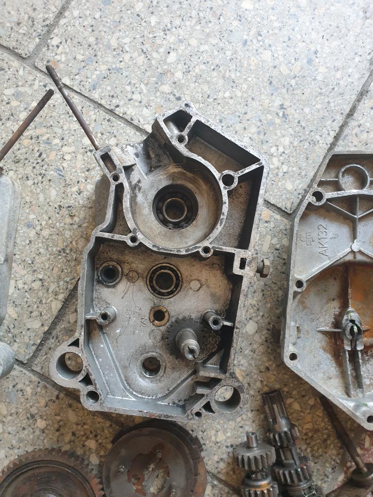 Двигатель запчасти romet мопедик 019 3 передачи, фото 5