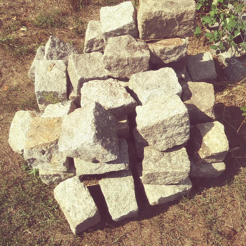 Budowlany kamień granitowy