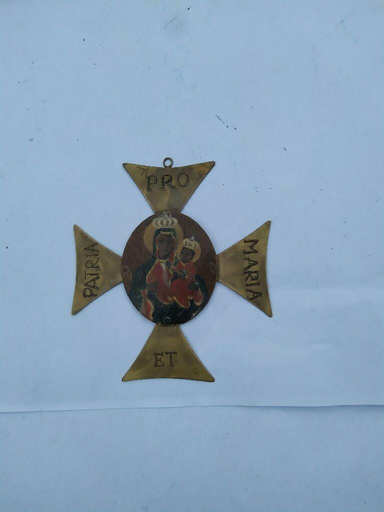 Krzyż konfederatów ryngraf kaplerz