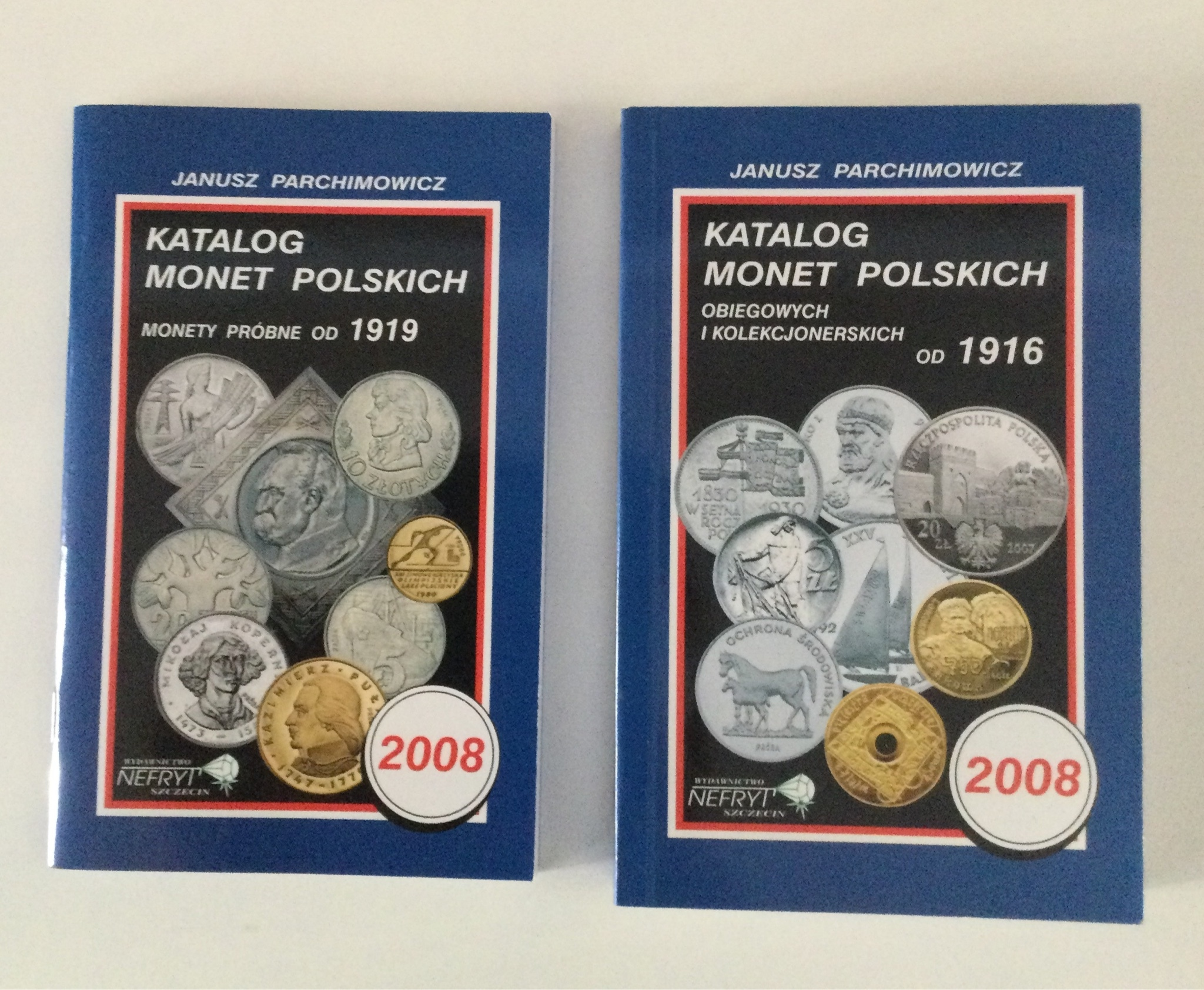 Katalog monet polskich - próbne kolekcjonerskie