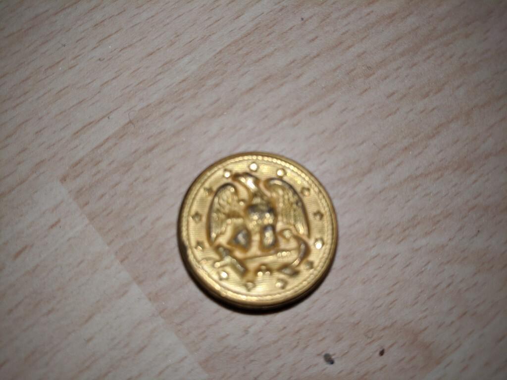 Guzik Waterbury button co eagle marynarki usa