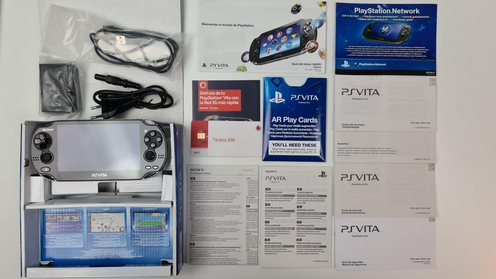 Купить НОВАЯ консоль SONY PS VITA PCH-1104 3G / Wi-Fi на Otpravka - цены и фото - доставка из Польши и стран Европы в Украину.