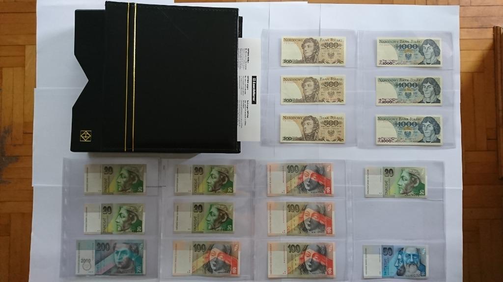 Набор банкнот 116 UNC + KLASER OPTIMA LEUCHTTURM