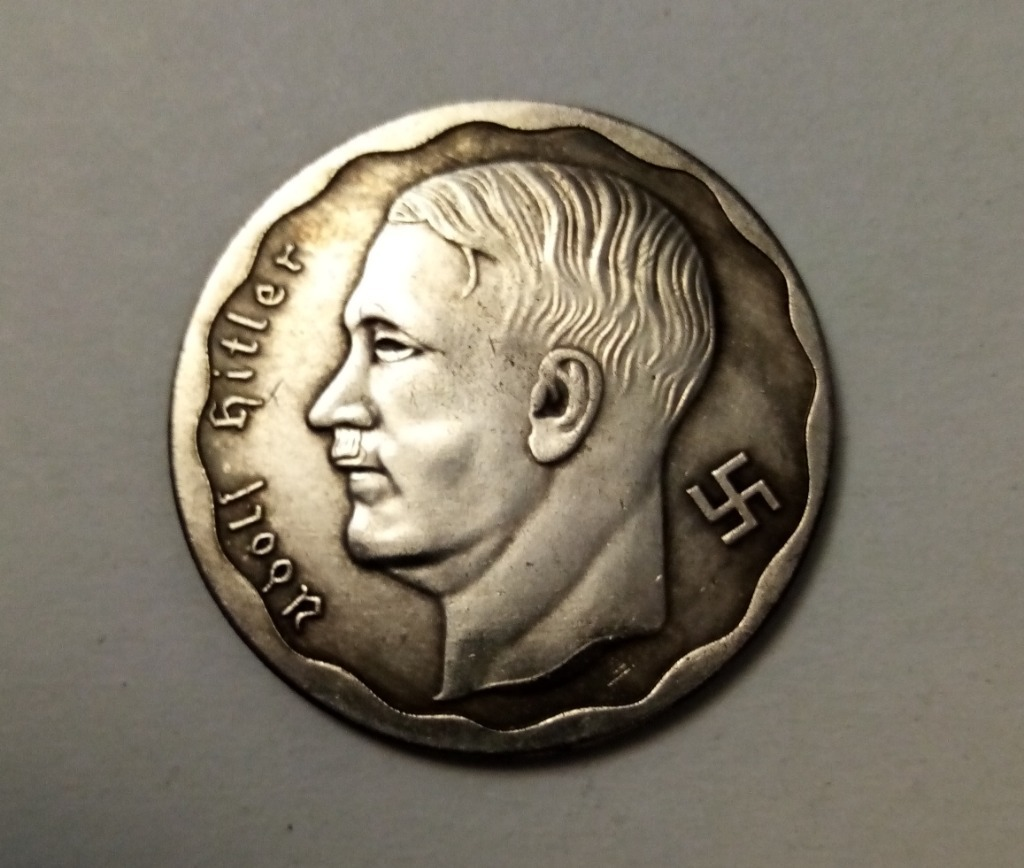 Moneta 100 marek 1933 III Rzesza