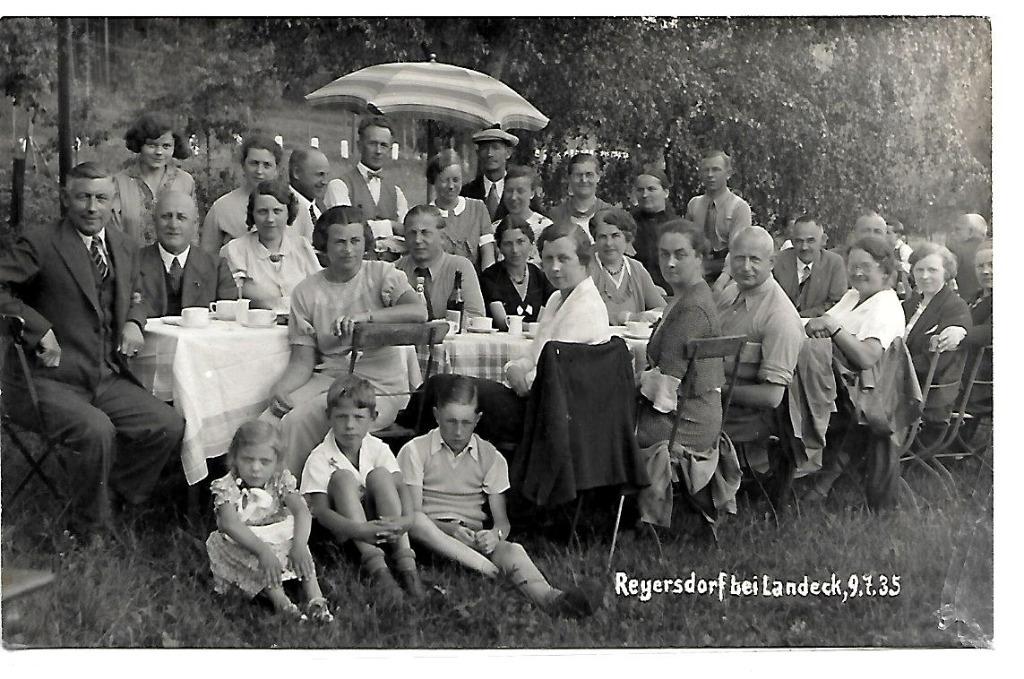 Radochów, (Reyersdorf), 1935 rok.