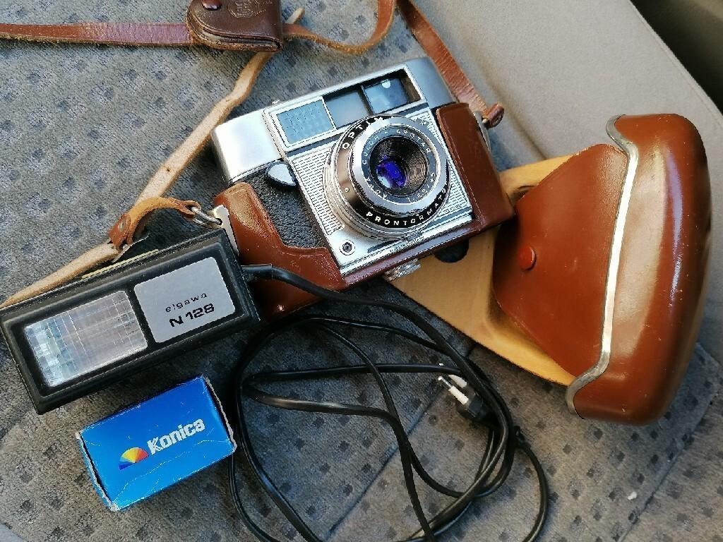Цветная камера Agfa + вспышка для коллекционера