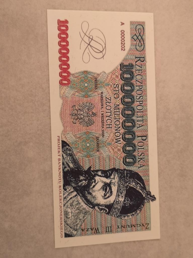 100000000 zł 2008 rok
