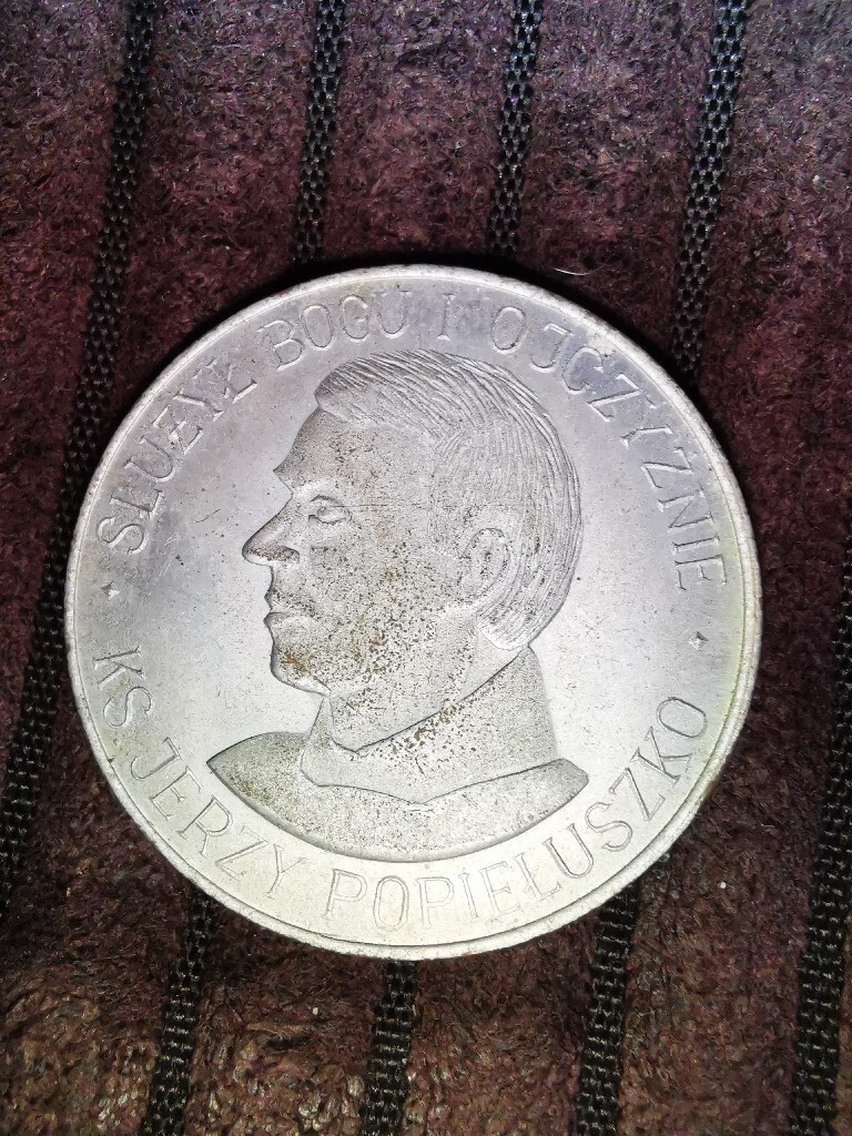 Medal ks. Jerzy Popiełuszko 1984