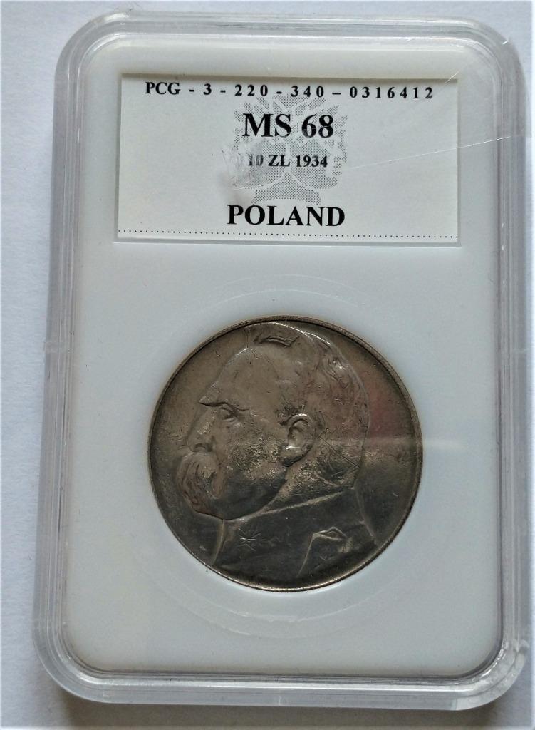 II RP 10 zł 1934 r p129