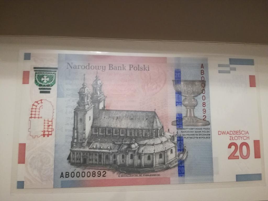 20 Zl 1050 Rocznica Chrztu Polski Niski Numer 892 Kup Teraz Za 2999 00 Zl Wieliczka Allegro Lokalnie
