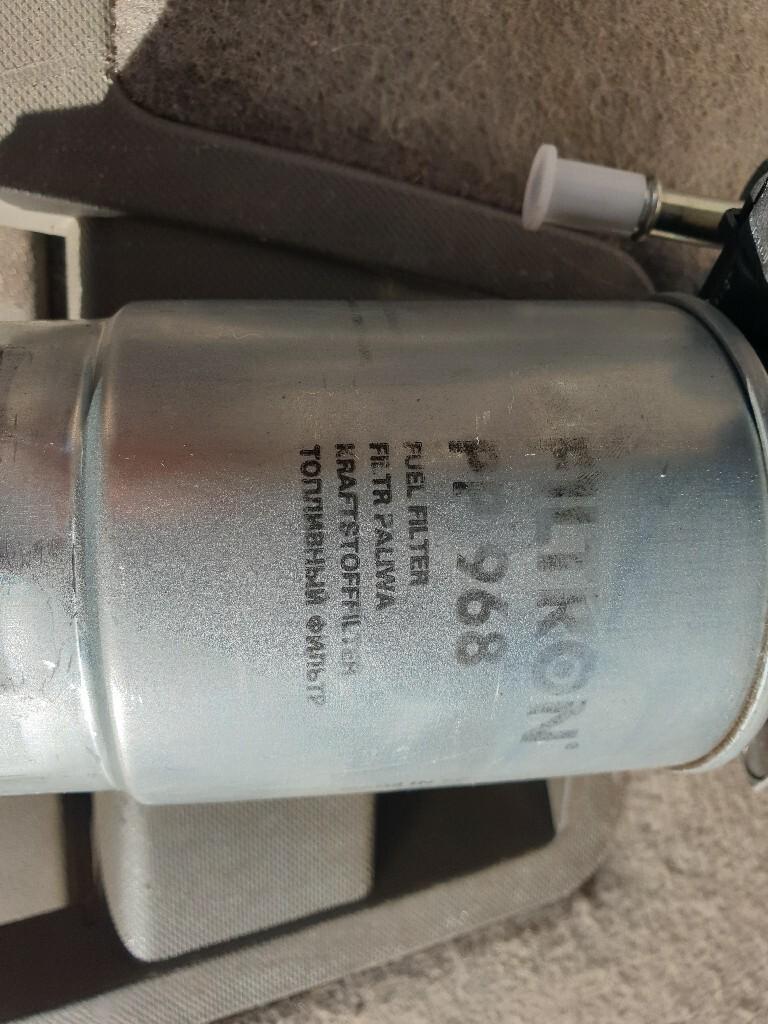 dodge нитро 2008 основа фильтра топлива комплект