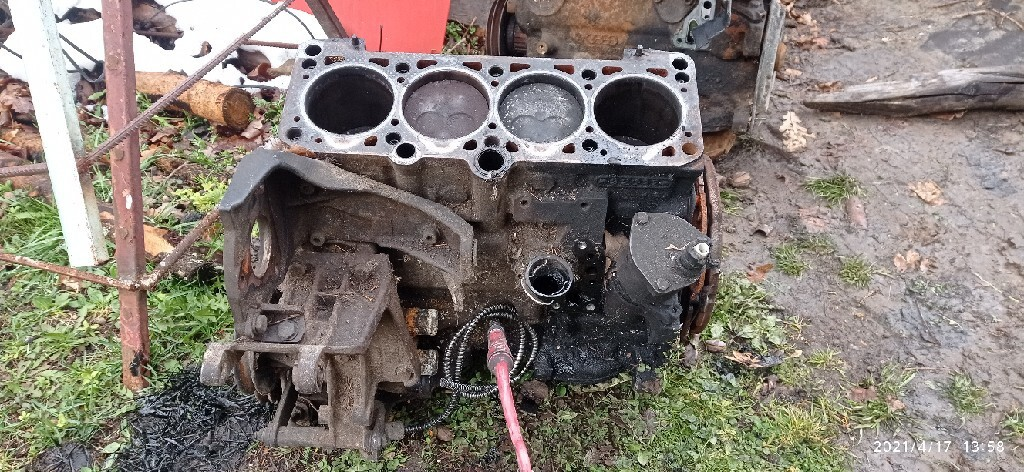двигатель столбик блок 19 tdi 16 tdi vw seat