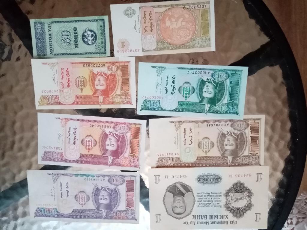 Banknoty-zestaw