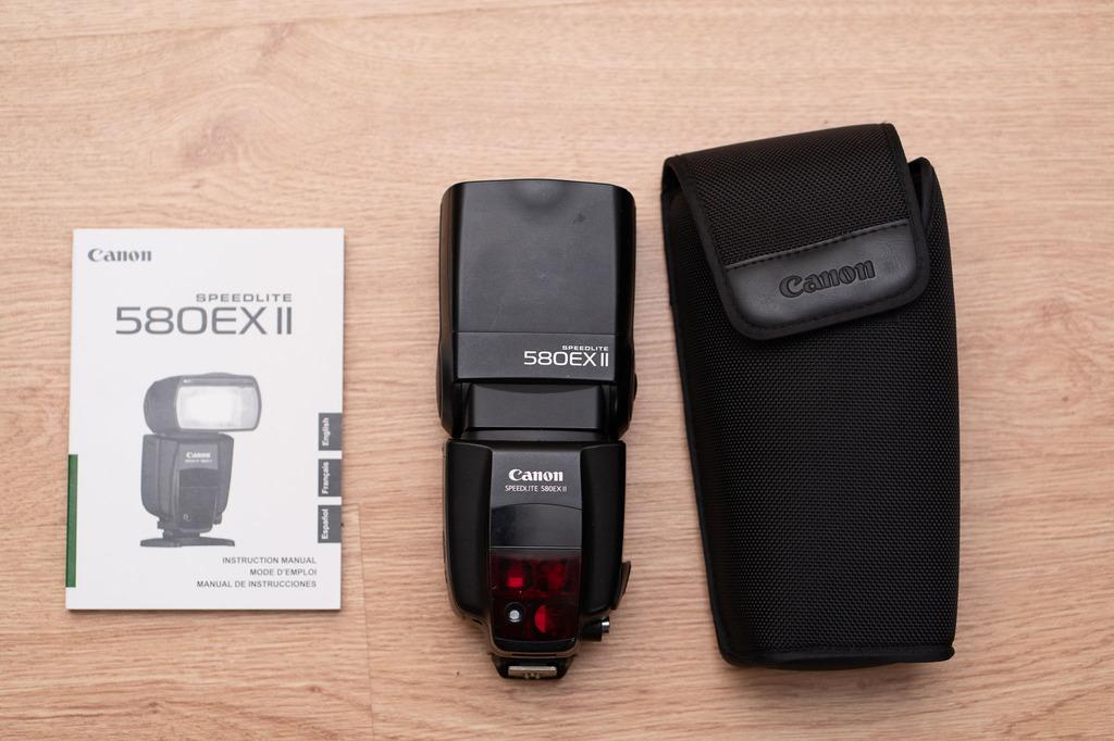 Item Flash Canon 580 EX II FV23%