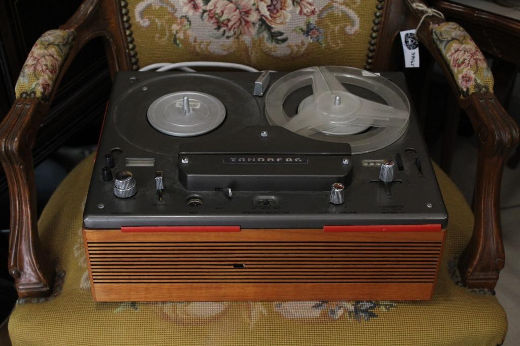 Magnetofon Tandberg stary vintage lata 70