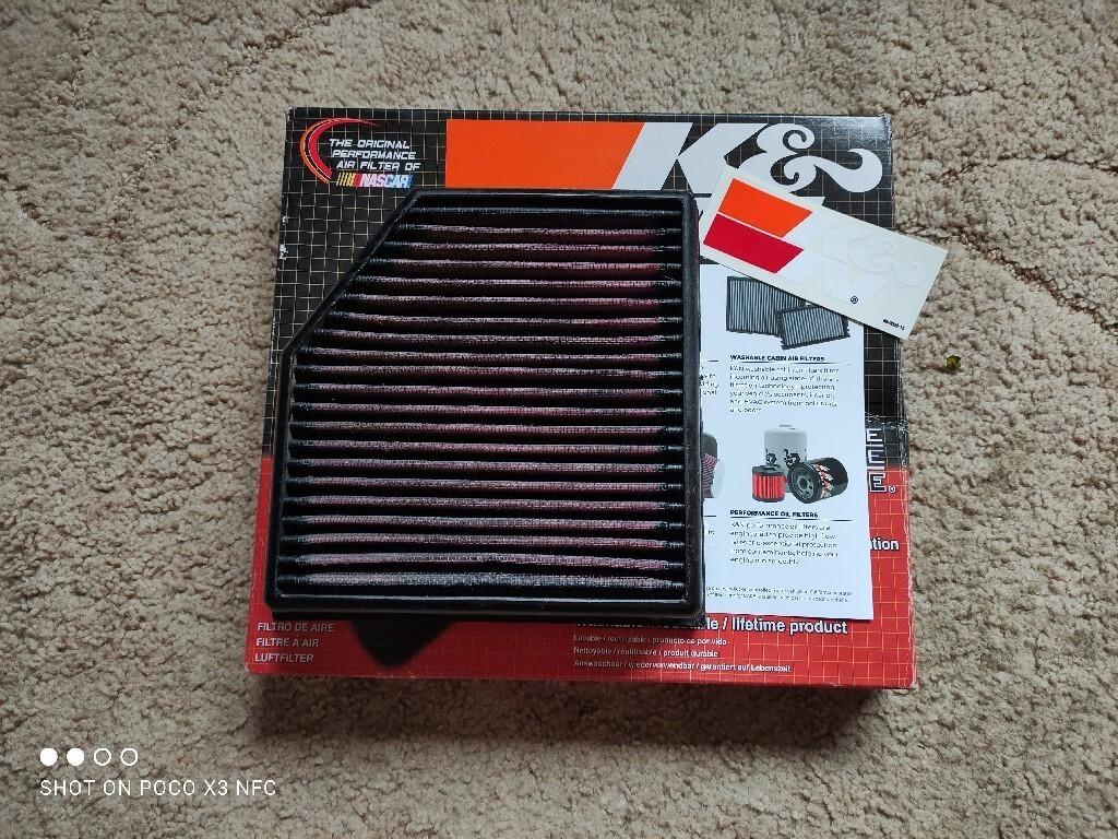 фильтры воздуха k 2013- dodge dart 20l