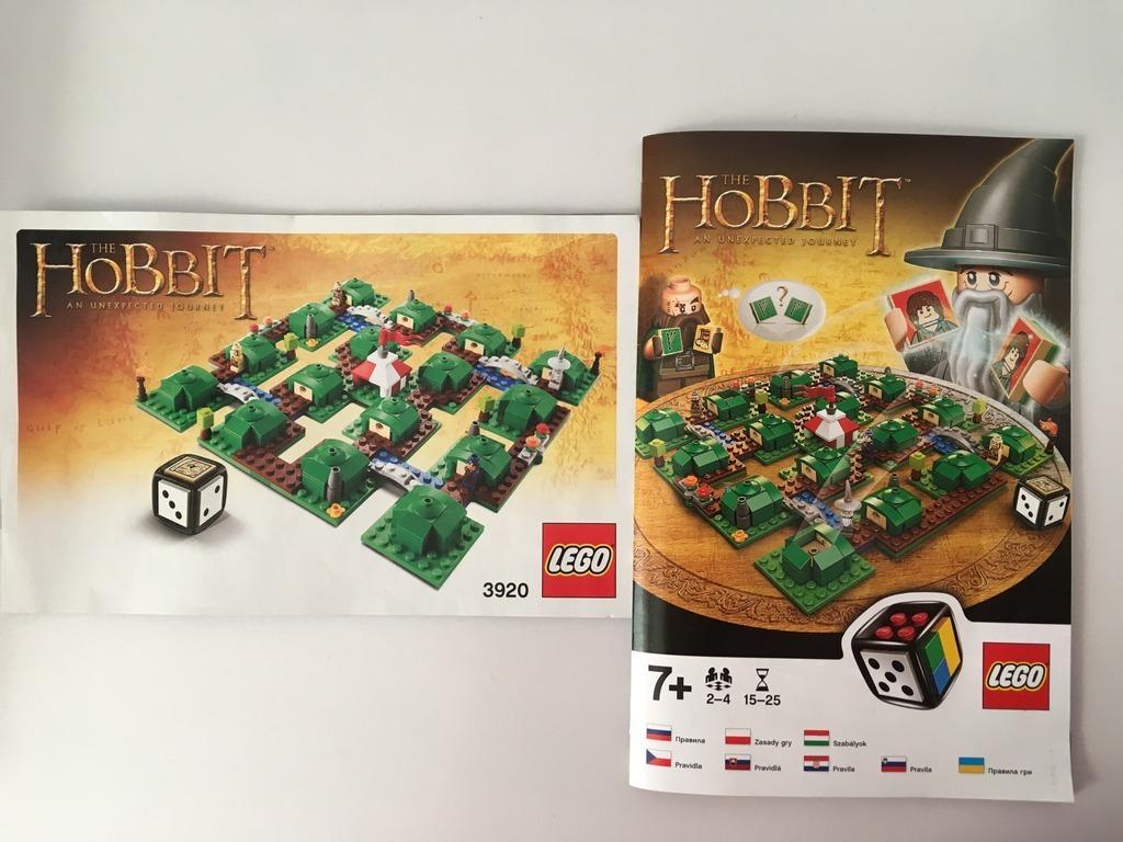 Licytacja Lego Gra Hobbit Niezwykla Podroz Zamosc Allegro Lokalnie