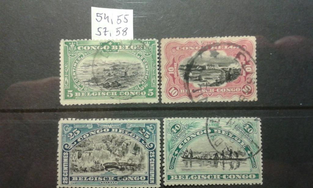 Kongo Belgijskie 1910. Cena do negocjacji.