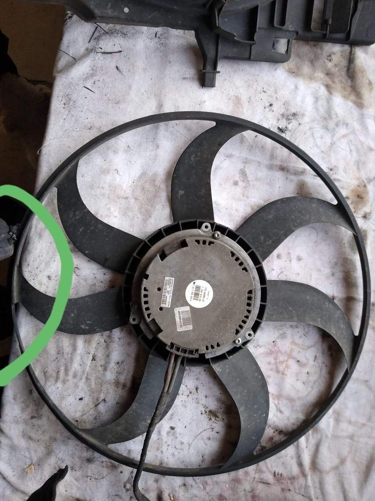 вентилятор для радиаторов bmw x5 e70 30 d