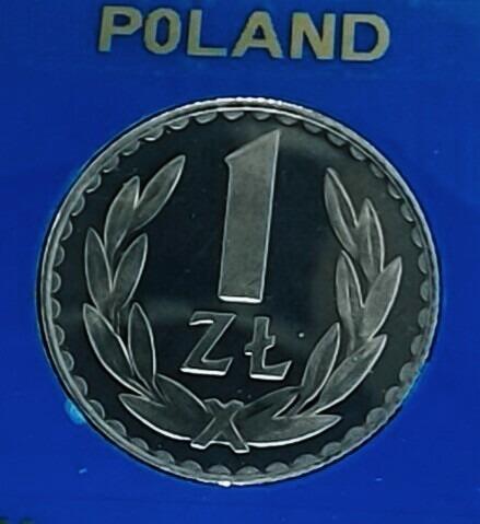 Moneta 1 zł Lustrzanka 1981 r. PRL