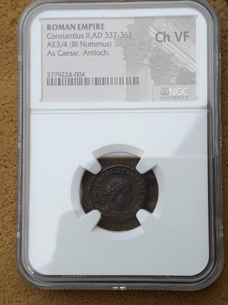 Константин II Рим 307-337 Антиох NGC