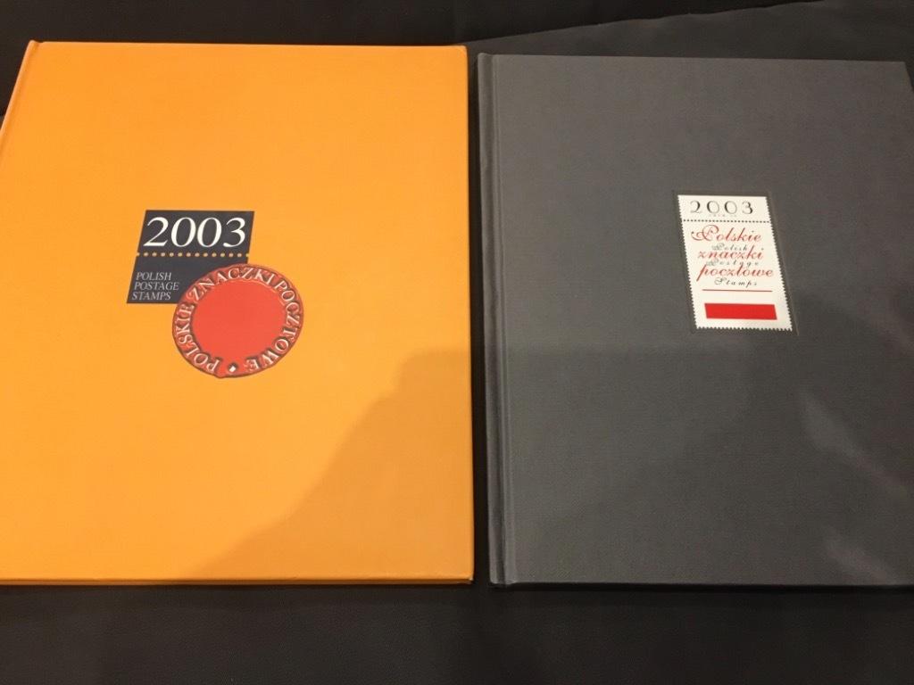 Księga znaczków  2003 Dwa różne wydania!!!