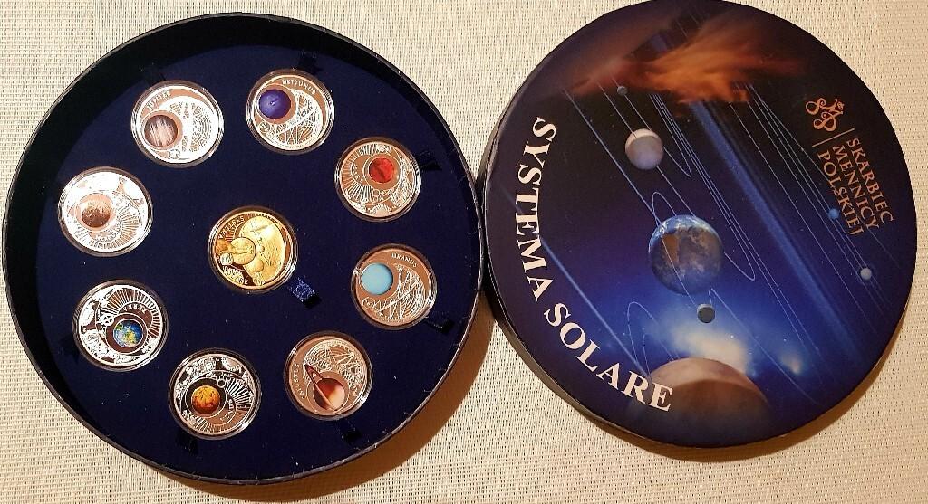 Systema solare - układ słoneczny monety