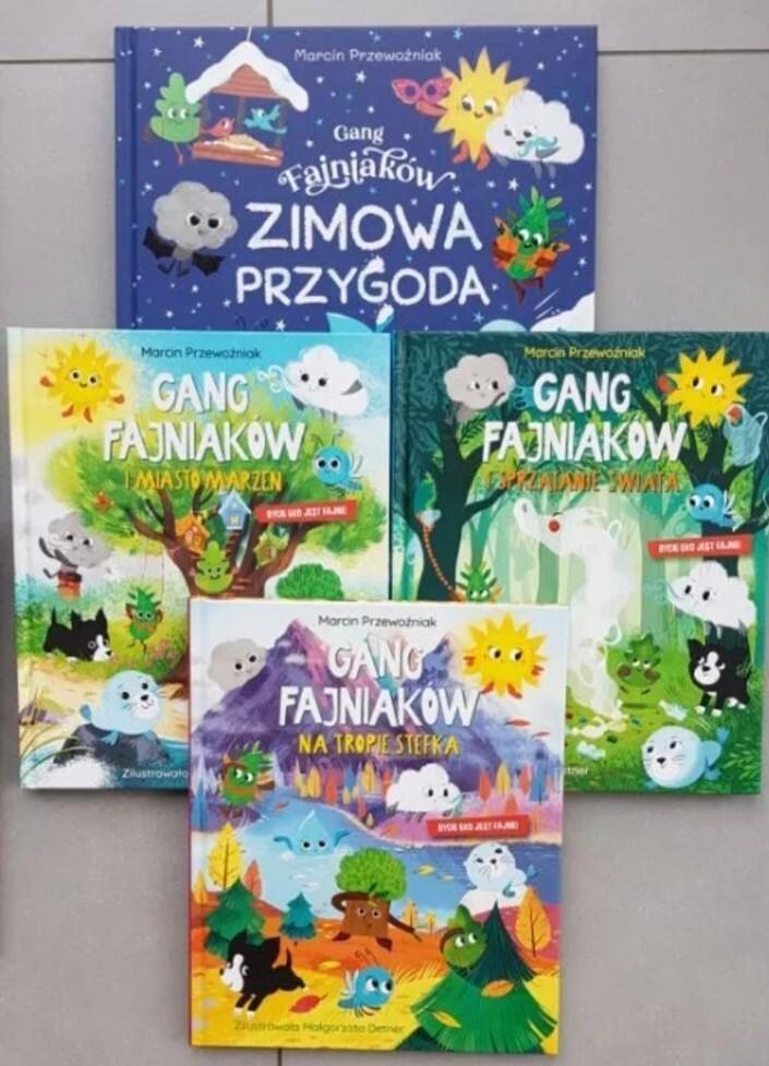 Gang Fajniakow Gang Słodziakow 8szt NOWE