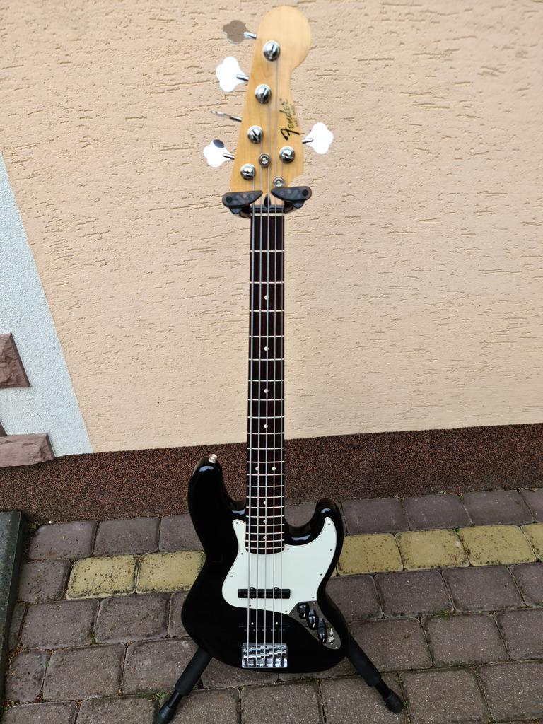 Item Standard Jazz Bass STD BLK V - 5