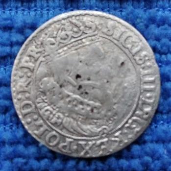 GDAŃSK grosz ZYGMUNT III WAZA 1626 St. III- rzadki