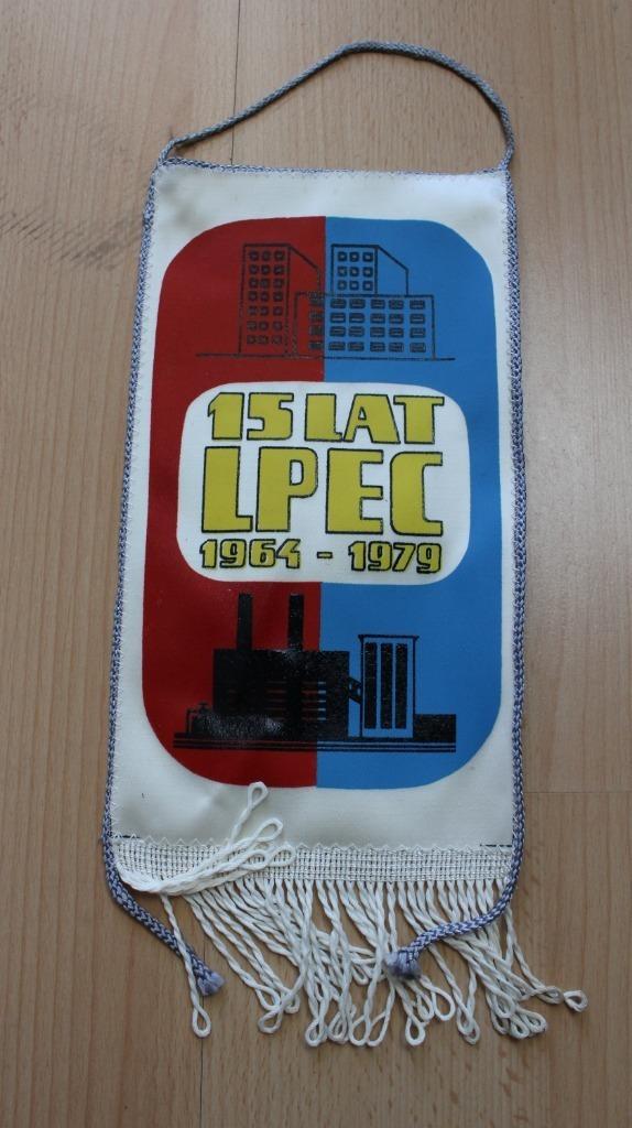 Декоративный вымпел LPEC 1979 г.