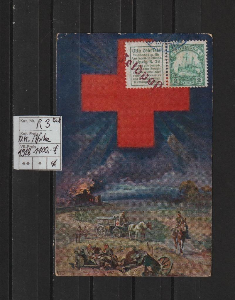 Niemcy D.Colony Africa Nr.R 3 na karta c.krzyż BPP
