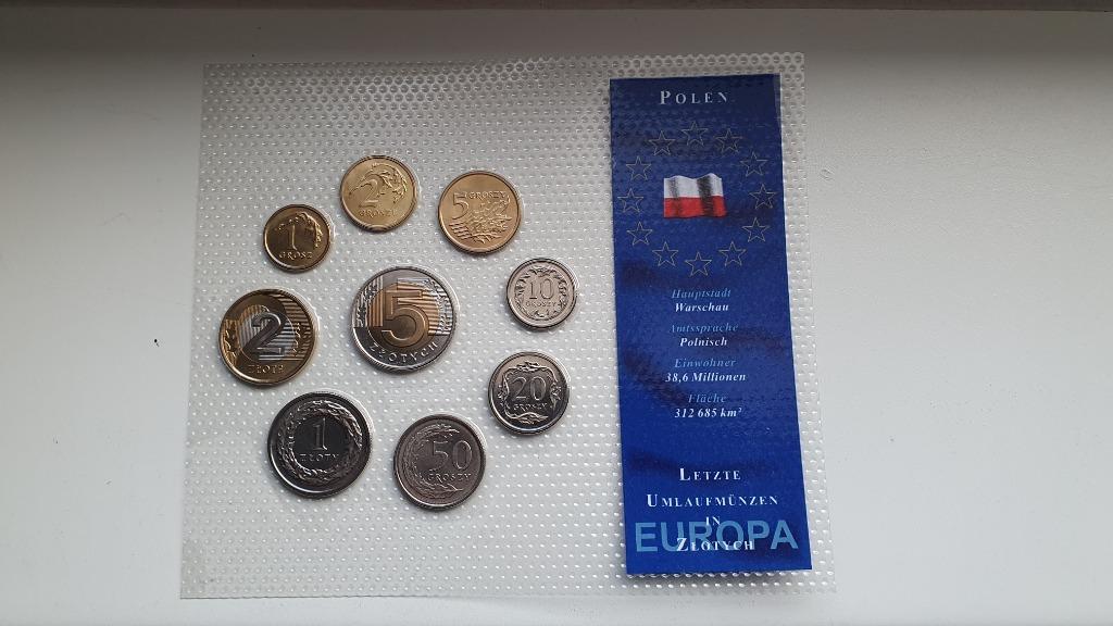 Zestaw rocznikowy Polska 1991-2003 mennicze