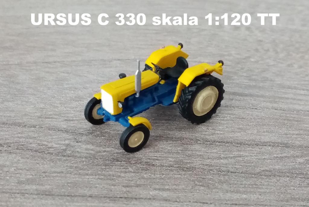 URSUS C 330 skala TT 1:120