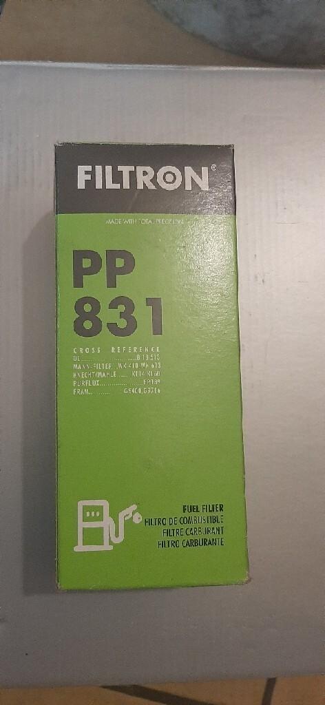 фильтр топлива пп 831