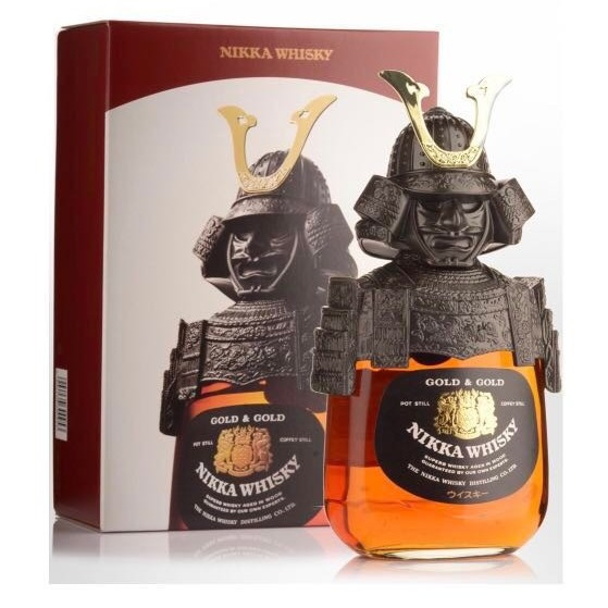 Whisky Nikka Gold & Gold Samurai 43% 0,75ml
