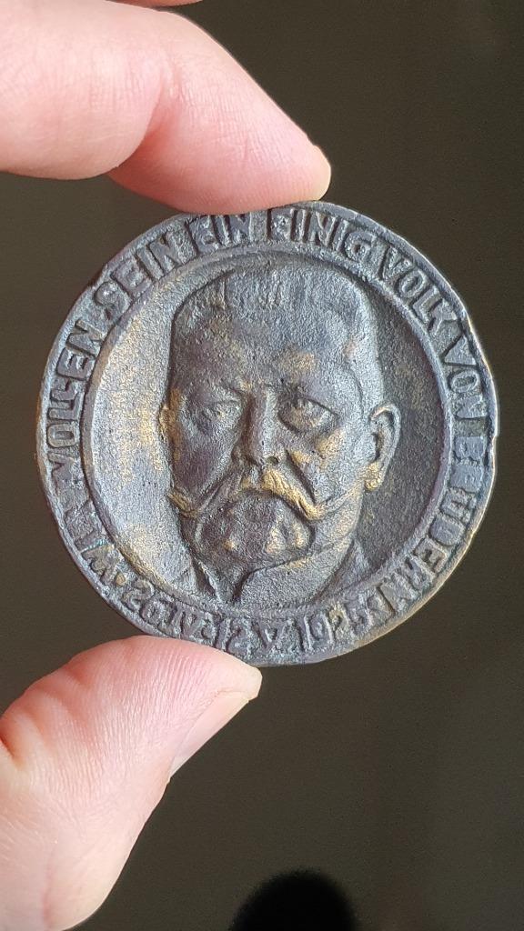 1925 r. medal niemiecki Hindengburg (BCM)