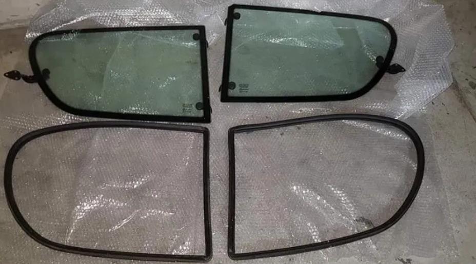 seicento стекла задние откидная z прокладками комплект