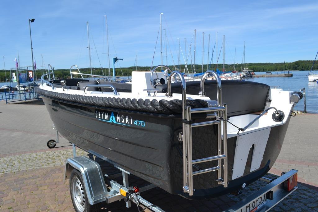 Купить лодку 91044 SZYMANSKI 470 туристическая wędkarska на Eurozakup - цены и фото - доставка из Польши и стран Европы в Украину.