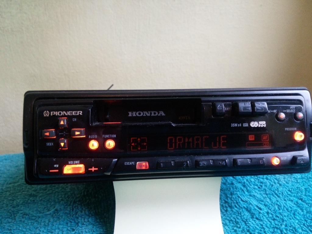радио honda pioneer 439ta