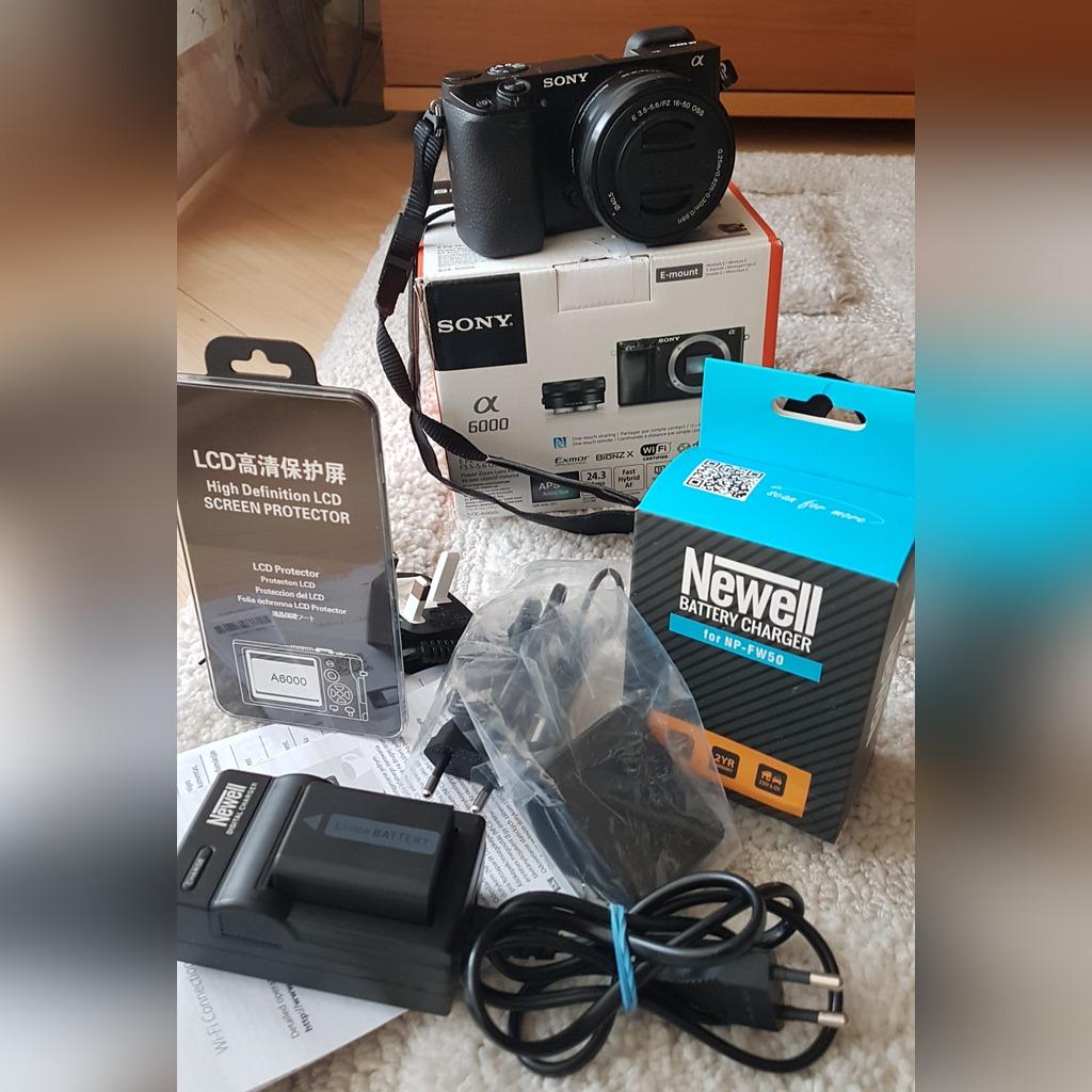 Aparat Sony Alpha A6000 Obiektyw 16 50 Akcesoria Kup Teraz Za 2350 00 Zl Legionowo Allegro Lokalnie