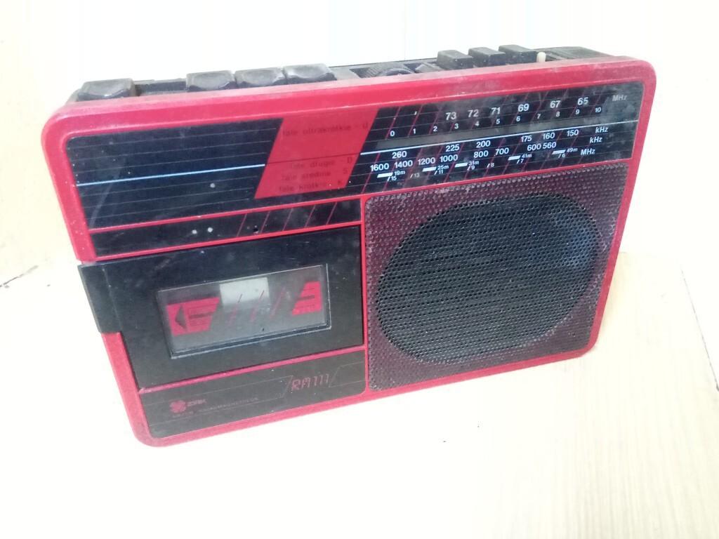 Radiomagnetofon PRL UNITRA ZRK RM 111