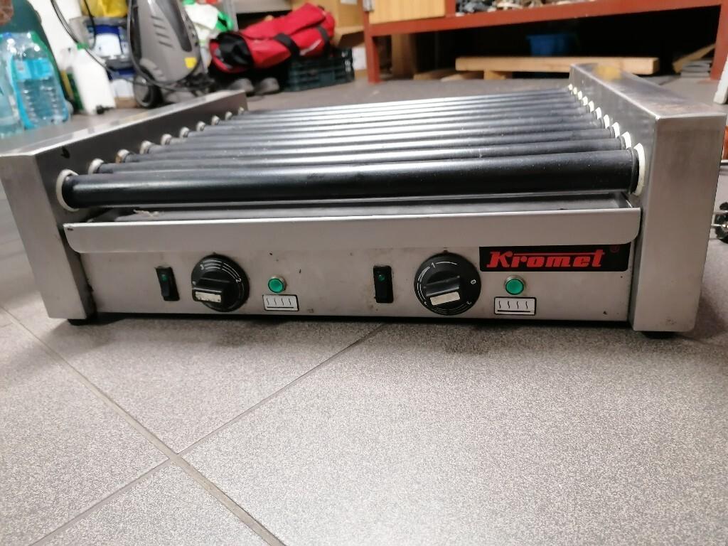 Roller grill  KROMET 10 rolek Okazja!!!