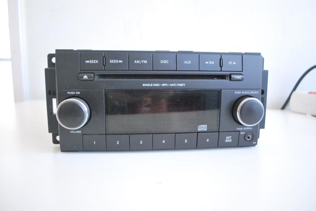 dodge grand caravan радио cd fm aux