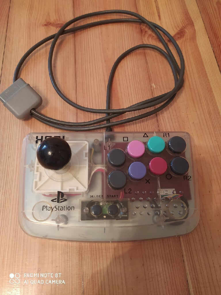 Joystick Playstation Psx Hori Compact Model HPS29