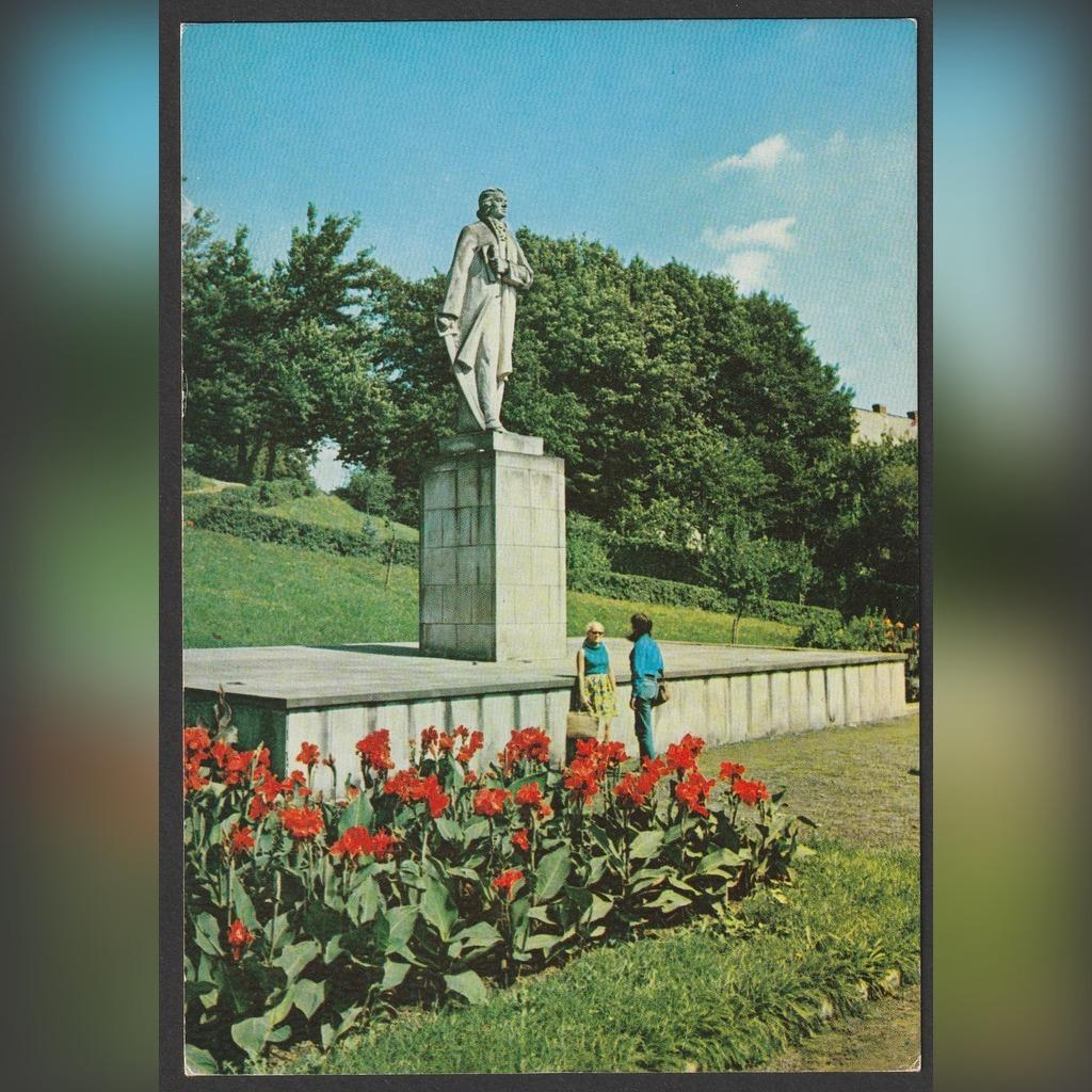 POLSKA - SANOK - POMNIK KOŚCIUSZKO - 1978