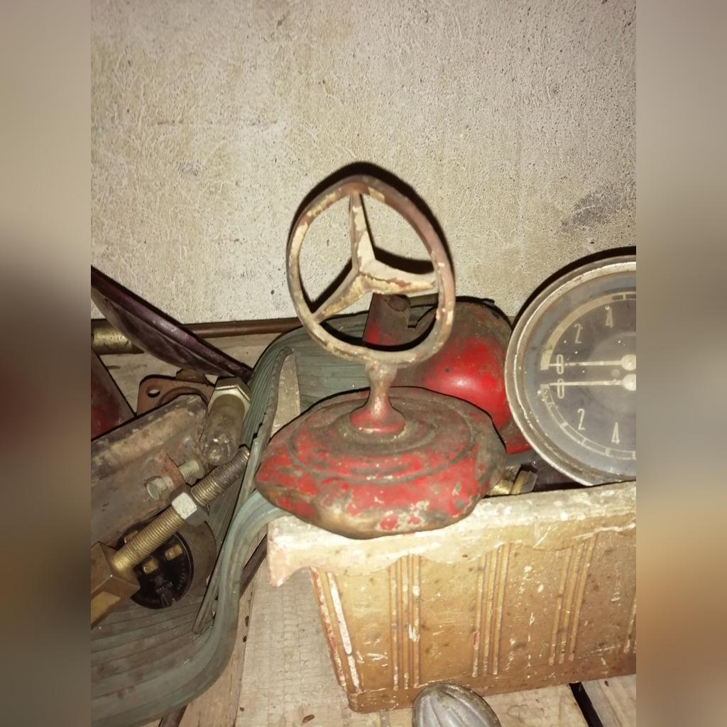 Пробка радиатора Mercedes грузовой