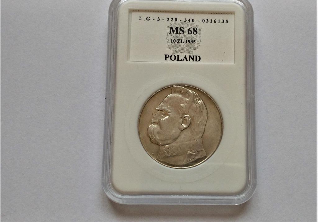 II RP 10 zł 1935 r   p52