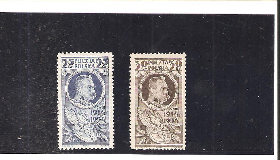 POLSKA 1934 r, Fi 266 - 67