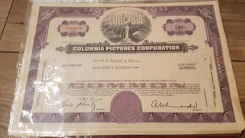 Columbia Pictures - wytwórnia - akcja z 1965